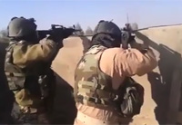 Iraqi Army Rooftop Firefight with Daash