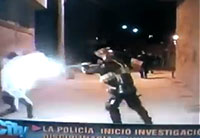 Getting Shot Point Blank by Police