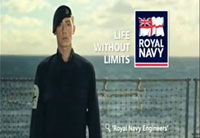 Royal Navy's Funny New Recruiting Ad