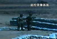 Chinese Soldier Fails Grenade Training