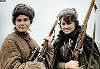 Russian Female Soldiers of WWII