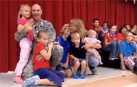 Soldier Shares Lesson on Veterans Day