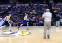 Soldier Surprises Bros at Pacers Game