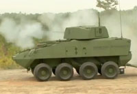 30mm Stryker Combat Vehicle Live Fire