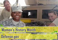 DoD Salutes Women's History Month