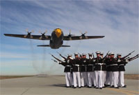 Blue Angels Fat Albert & Silent Drill Platoon