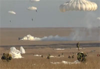 Russian Large Scale Airborne Exercises