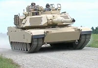 Ohio National Guard M1A1 Tank Training