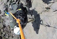 H1 Rescues Dog Trapped On Cliff