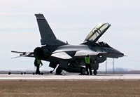 F-16 Arresting Cable Test in Denver
