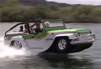 WaterCar Panther - Amphibious Jeep
