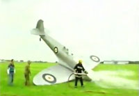 Not So Smooth Spitfire Landing