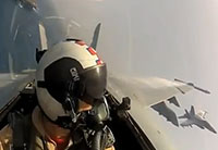 Jet Fighter Cockpit View Compilation