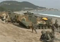 US & South Korea Stage Military Drill