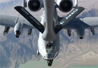 A-10 Thunderbolt II Gets Refueled