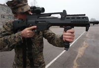 Marines Scope Latvian Weapon Systems