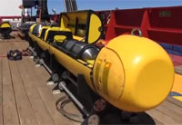 Navy Bluefin AUV Searches for MH370