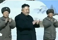 Bizarre Video of Kim Jong-un with Troops