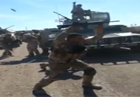 Iraqi Soldiers Fight Daash, Gangsta Style