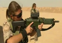 Swedish Female Soldiers in Afghanistan Pt 2