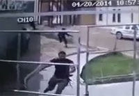 Suicide Bomber Chases Down Victims