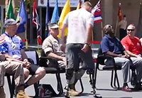 Injured Marine Completes 5k Mile Bike Ride