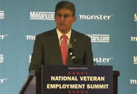 Sen. Joe Manchin Talks Vet Employment