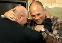 Randy Couture Visits Fort Benning