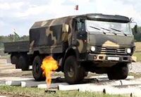 Russia's New MRAP Put Through Paces