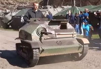 Amazing Display of Combat Tanks