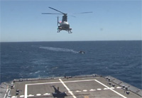 Fire Scout Takes Part in VBSS Training
