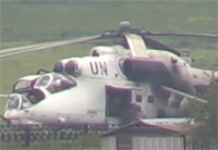 UN-marked Helo Used by Kiev Against Militia