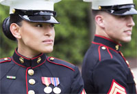 Corps Testing New Female Dress Blues