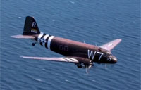 Original Normandy C-47 Revisits Beaches