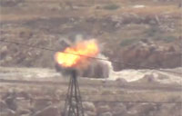FSA Militants Target Army Supply Road