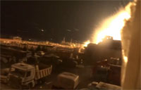 Suicide Truck Targets Syrian Army Base