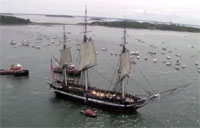 Old Ironsides Prepares to Set Sail