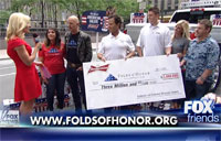 Folds of Honor Surprises Military Family
