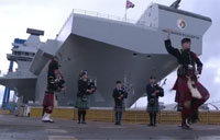 The Queen Names UK's Newest Warship