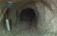 The Rebel Tunnel Used for Bombing