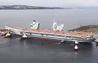 UK's Largest Carrier Floats for First Time