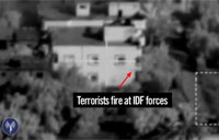 Hamas Shooting from Within Homes