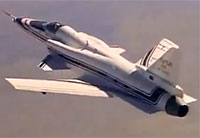 X-29 Aircraft with Forward Swept Wings Pt. 2