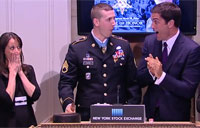 How a MoH Recipient Rings the Closing Bell