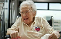 Oldest Female Vet Honored in DC