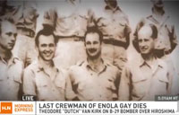 Last Enola Gay Crewman Dead at 93
