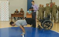 Double Amputee Soldier Sets World Record