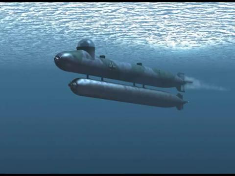 What midget subs sunk wwll have