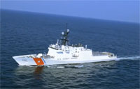 Coast Guard Cutter Hamilton Sea Trials