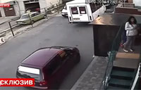 Security Cams Film Shelling of Donetsk